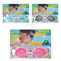 Очки для подводного плавания в ассортименте, INTEX 55684