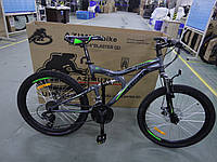 Горный велосипед 24 дюйма 17 рама 127-G-FR/D Blaster Azimut