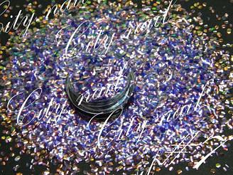 """Декор для нігтів """"Луска дракона"""" ( Лусочки для дизайну нігтів ) №7 - фіолетові"""