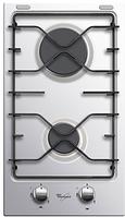 """Варочная поверхность Whirlpool AKT 301 IX (газовая поверхность,""""Домино"""", 28.8 см,2 конфорки )"""