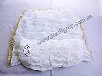 Ритуальная Постель, Верх Низ №1 кружево золотое