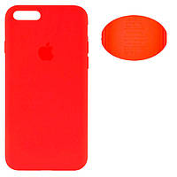 Чехол Silicone Cover Apple iPhone 7 Plus, iPhone 8 Plus красный