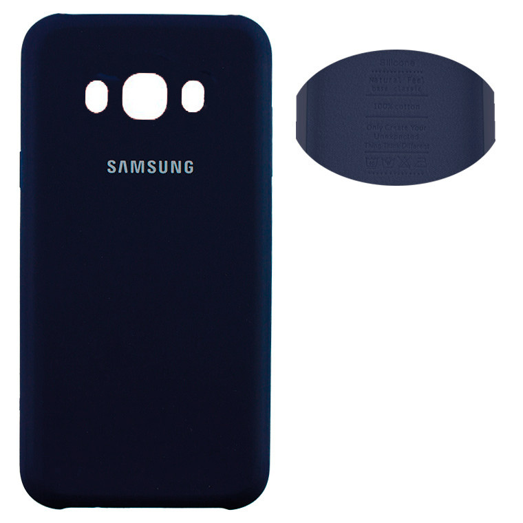 Чехол Silicone Cover Samsung J5 2016 J510 синий