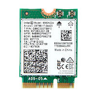 Wi-Fi адаптер Intel Wireless-AC 9560 NGFF 1.73Gbps 802.11ac Bluetooth 5.0 (9560NGW)