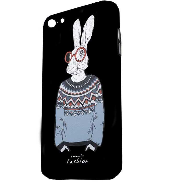 Чехол Creative TPU+PC Apple iPhone 7, 8 Rabbit white