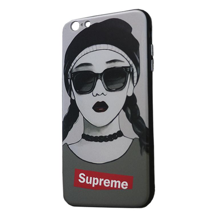 Чехол Creative TPU+PC Apple iPhone 6, 6S Sup girl