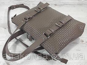 36 Натуральная кожа кофейная Сумка мужская женская унисекс для ноутбука, кофейная кожаная сумка с тиснением 3D, фото 2