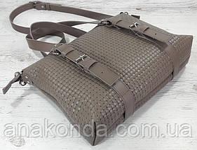 36 Натуральная кожа кофейная Сумка мужская женская унисекс для ноутбука, кофейная кожаная сумка с тиснением 3D, фото 3