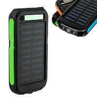 Power Bank Solar SOL-9 15000 mAh зеленый