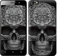 Чехол EndorPhone на Huawei Honor 4C skull-ornament 4101c-183-19016 (hub_dbME90416)
