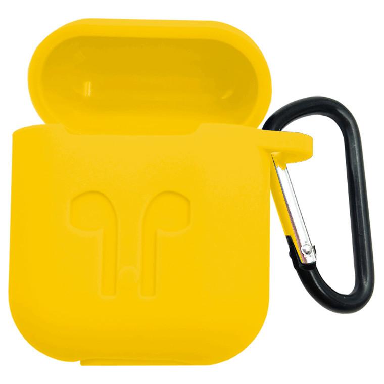 Футляр для наушников Airpod Full Case желтый