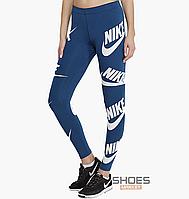 Лосины Nike LGGNG SSNL LEG A SEE Blue 883655-474, оригинал