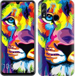 """Чехол на Samsung Galaxy A8S Разноцветный лев """"2713c-1636-328"""""""