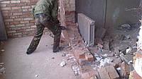 демонтаж несущих стен