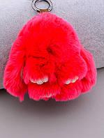 Брелок Кролик Мех натуральный 071687