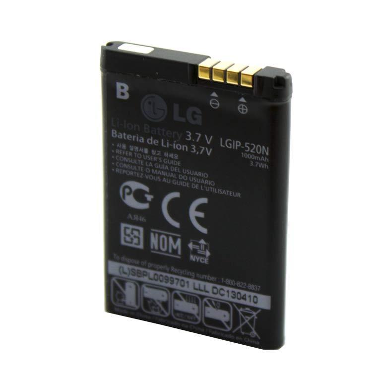 Аккумулятор LG LGIP-520N 1000 mAh GD900 AAAA/Original тех.пакет