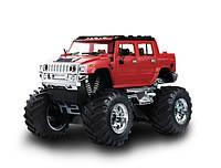 Радиоуправляемая машина Джип игрушечная машинка микро р/у Hummer (красный), фото 1