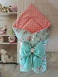 Всесезонный конверт-одеяло   с   плюшем, фото 2