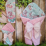 Всесезонный конверт-одеяло   с   плюшем, фото 9