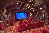 Проектирование и установка тематических домашних кинотеатров