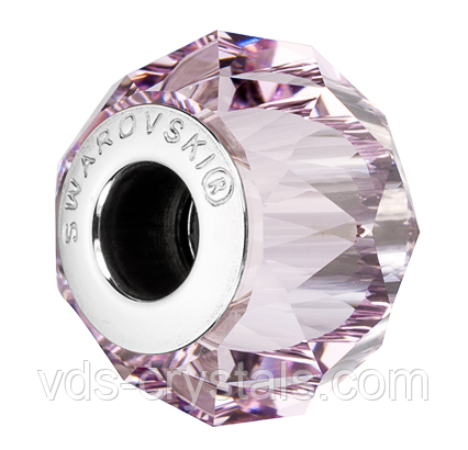 Бусины Pandora от Swarovski 5948 Light Amethyst (упаковка 12 шт)