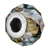 Намистини Pandora style Swarovski 5948 Iridescent Green (упаковка 12 шт)