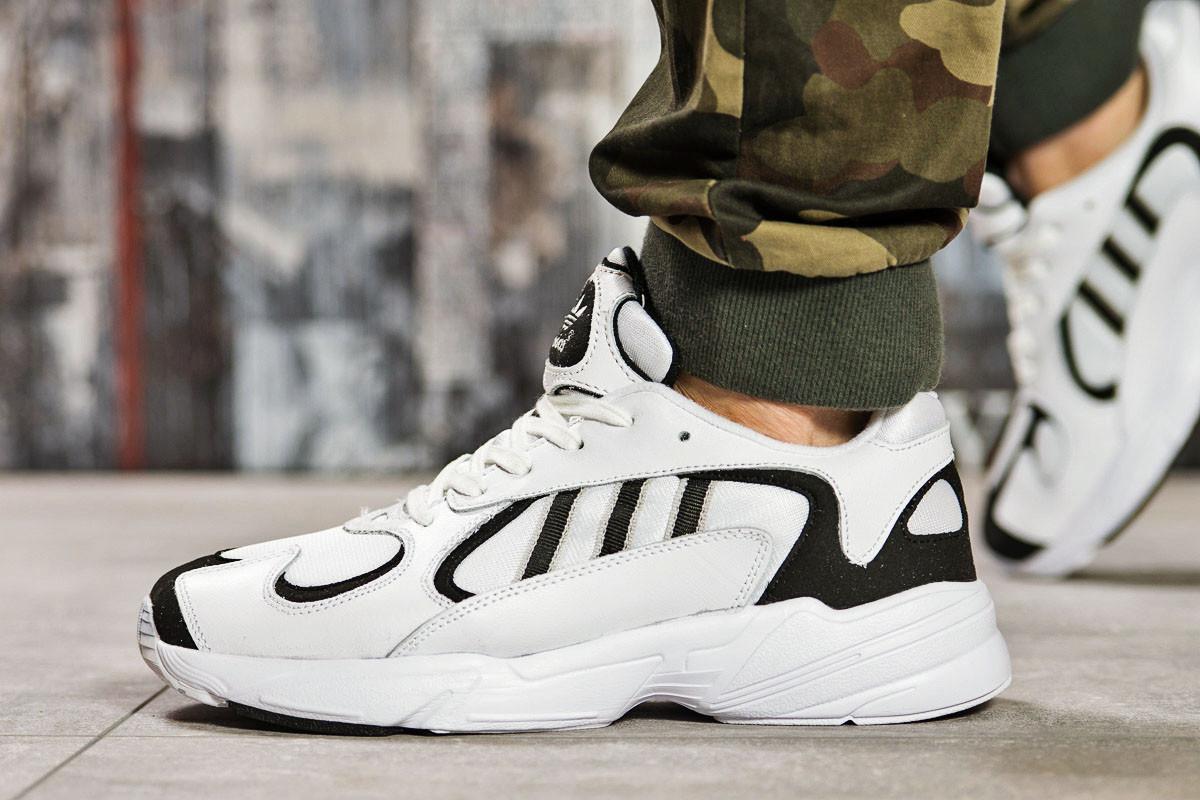 Кроссовки мужские  Adidas Yung 1, белые (15511),  [  41 42 43 44  ]