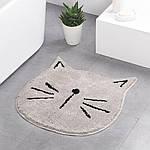Килимок для ванної Кіт 60 x 60 см Berni
