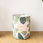 Корзина для игрушек, белья, хранения Тропические растения Berni