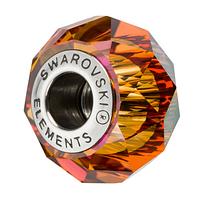 Бусины Сваровски в стиле Пандора 5948 Astral Pink (упаковка 12 шт)