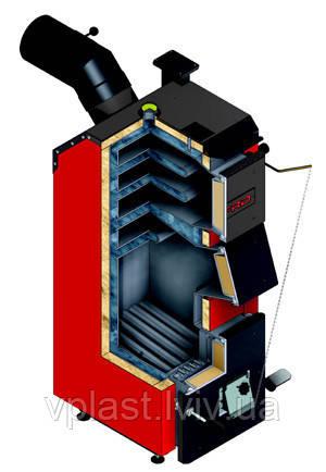 Твердопаливний котел DEFRO Optima Komfort 15 кВт, фото 2