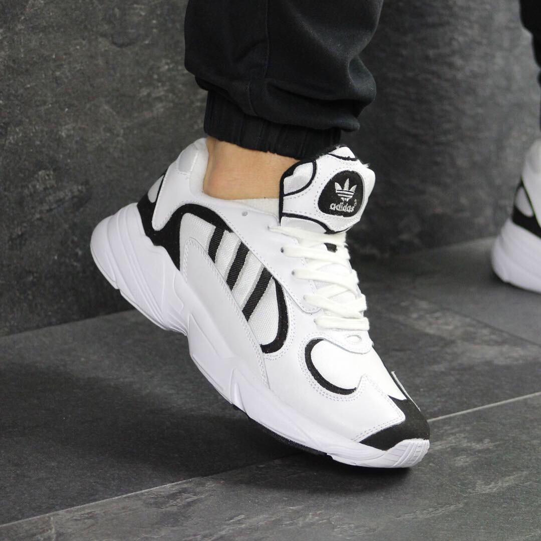 e74b8f41e43c9 Кроссовки мужские 7599 Adidas Yung Белые купить дёшево в интернет магазине  - Интернет-магазин