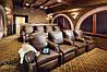 Дизайн-проект домашнего кинотеатра с инженерно-акустическими расчетами