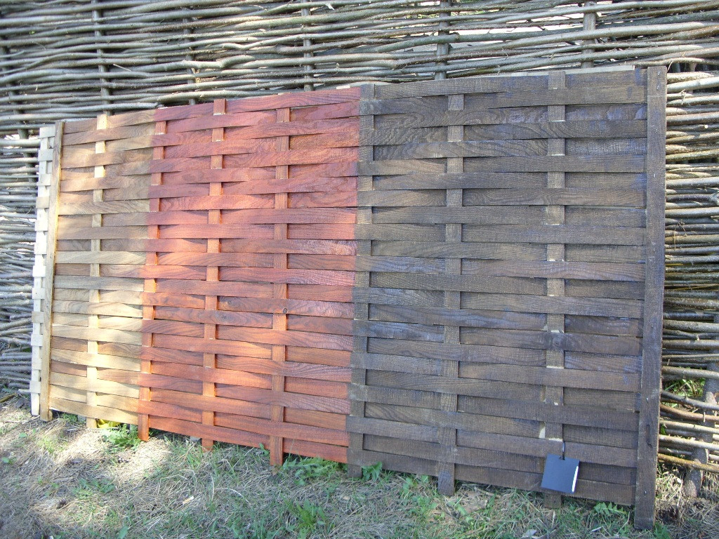 Плетеный забор дуб 5 мм с доставкой