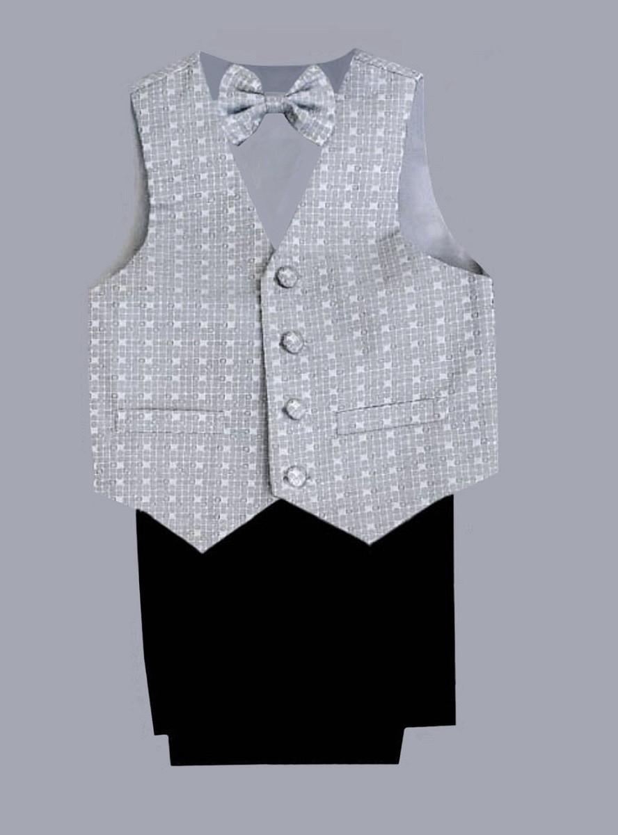 Нарядный фирменный костюм-тройка Sotalia collection с бабочкой для мальчика на 4-5 лет  качество СУПЕР