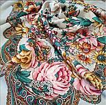Песня Леля 1577-2, павлопосадский платок шерстяной  с шелковой бахромой, фото 2
