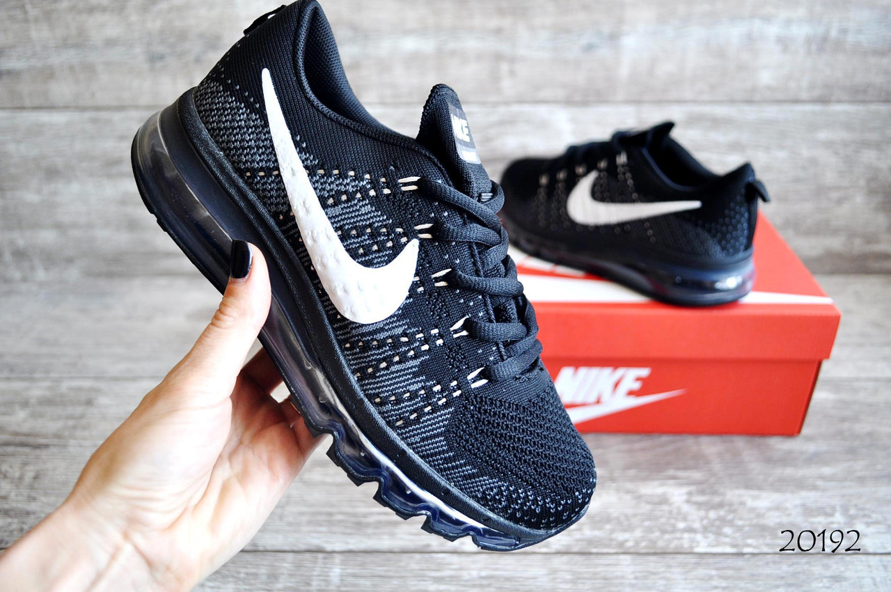 Кроссовки Nike Air Max сетка  арт.20192