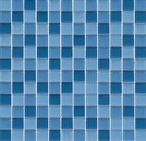 Мозаика прозрачное стекло Vivacer микс 2,5*2,5 CMmix02