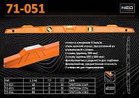 Уровень алюминиевый 2 глазка - 400мм., NEO 71-051