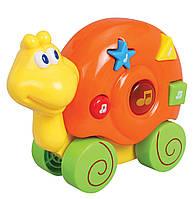 Музыкальная игрушка «Улитка» со световыми и звуковыми эффектами