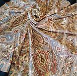 Мозаика 543-15, павлопосадский платок шерстяной  с шелковой бахромой, фото 2