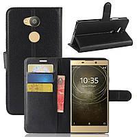 Чехол-книжка Litchie Wallet для Sony Xperia L2 H4311 Черный