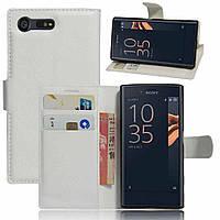 Чехол-книжка Litchie Wallet для Sony Xperia X Compact F5321  Белый