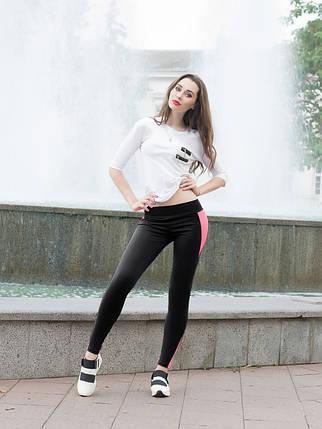 Спортивні жіночі Issa Plus 529 чорний з рожевим, фото 2