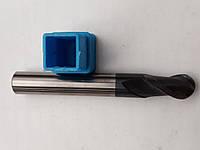Фреза концевая радиусная твёрдосплавная.R=4мм.
