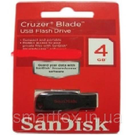 Флеш память 4Gb SanDisk, фото 2