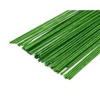 Проволока в обмотке Светло - зелёная ∅0,7 мм