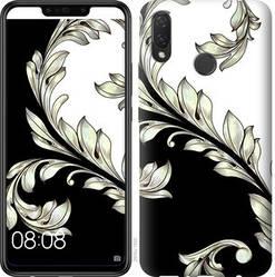 """Чехол на Huawei P Smart 2019 White and black 1 """"2805c-1634-328"""""""