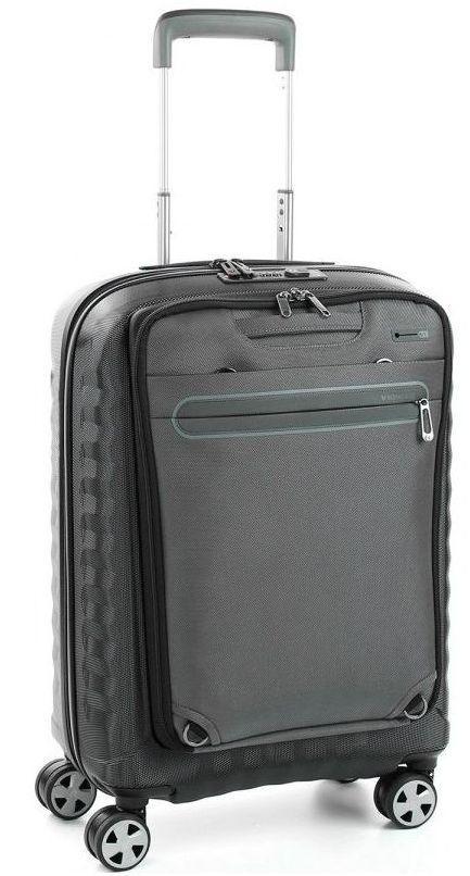 Пластиковый чемодан Roncato 5146 22 01, дорожный, малый, 44л