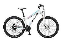 """Горный женский велосипед Fuji Addy Comp 1.5 Disk белый 17"""" (GT)"""